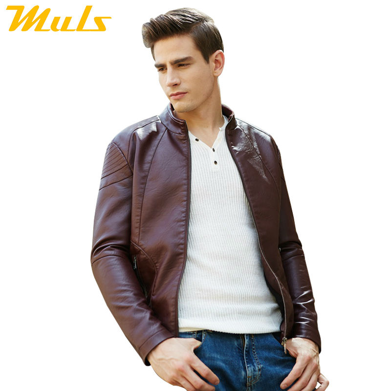 Aliexpress.com : Buy Luxury leather jacket men skin motorcycle ...