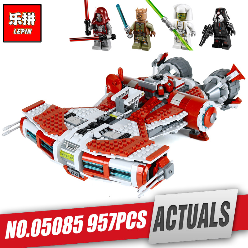 Lepin 05085 Genuine Star Series Wars Je set di model Defender set Class Toy Cruiser Set legoing 75025 Building Blocks Bricks lepin 05085 star genuine war series the defender class cruiser set building blocks bricks educational toys as gift 75025