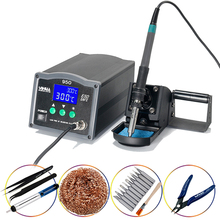 YIHUA950 Soldering station 150W High Frequency Eddy Current Lead-Free Welding Machine Platform Lntelligent Sleep And Password Lo