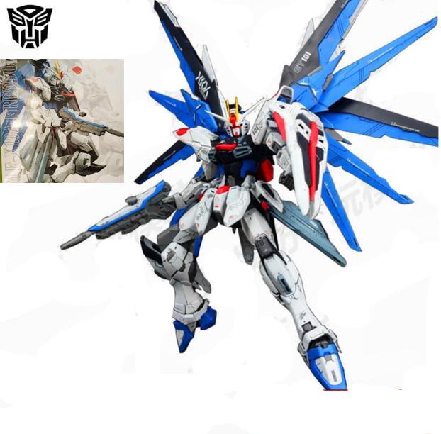 New DABAN Gundam MG 1/100 FREEDOM ZGMF-Z10A VER 2.0 action figure toys Japanese anime figures new 2 pcs black japanese metal alloy long katana sumurai blade accessorie for 1 144 hg rg mg unicorn gundam action figure toys