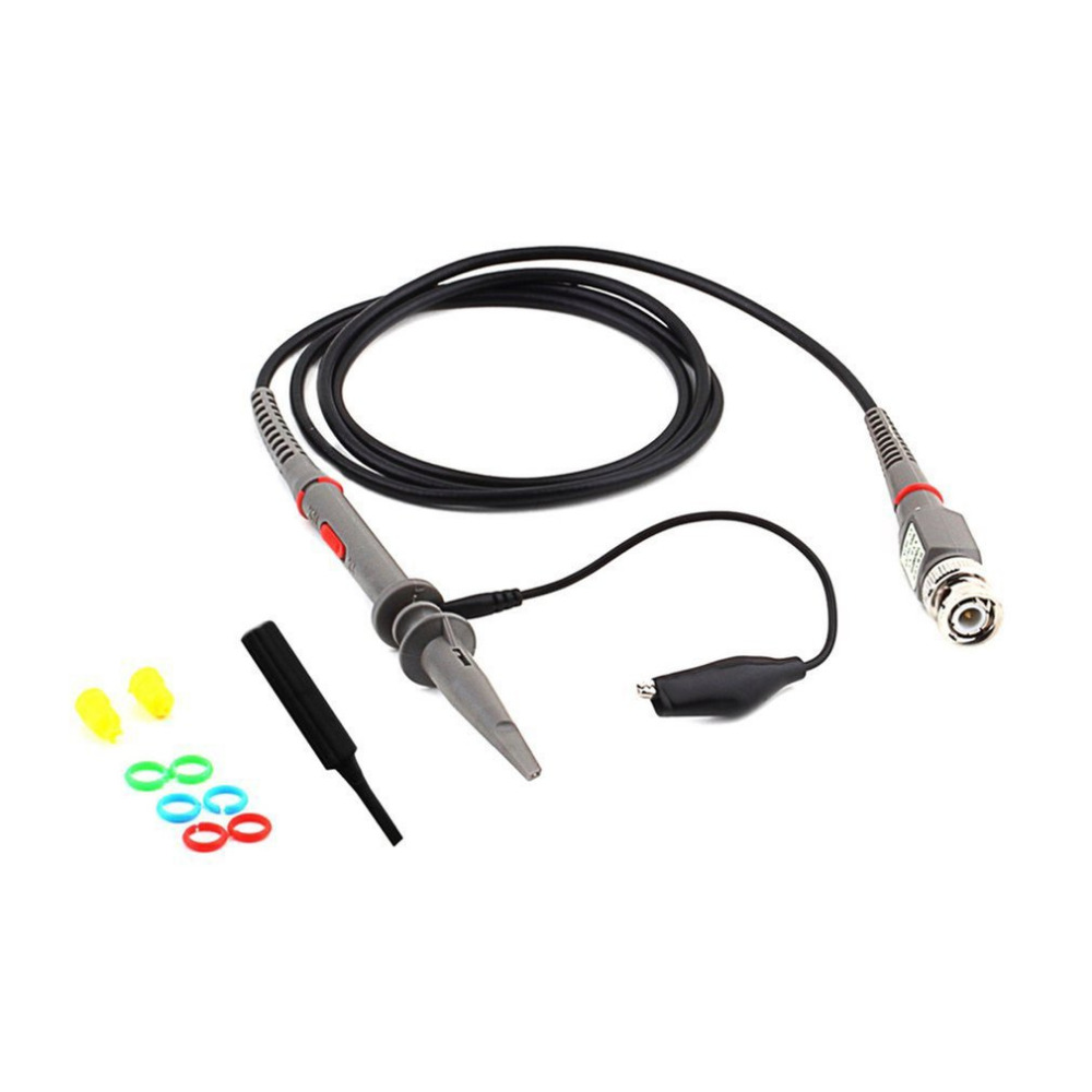 1Set P6100 DC 100MHz oszcilloszkóp szonda Scope Clip Probe - Mérőműszerek - Fénykép 1
