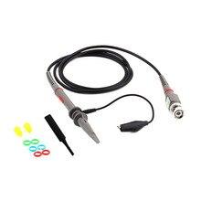 1Set P6100 DC 100MHz Oscilloscope  probe Scope Clip Probe  multimeter probe Quality Drop Shipping
