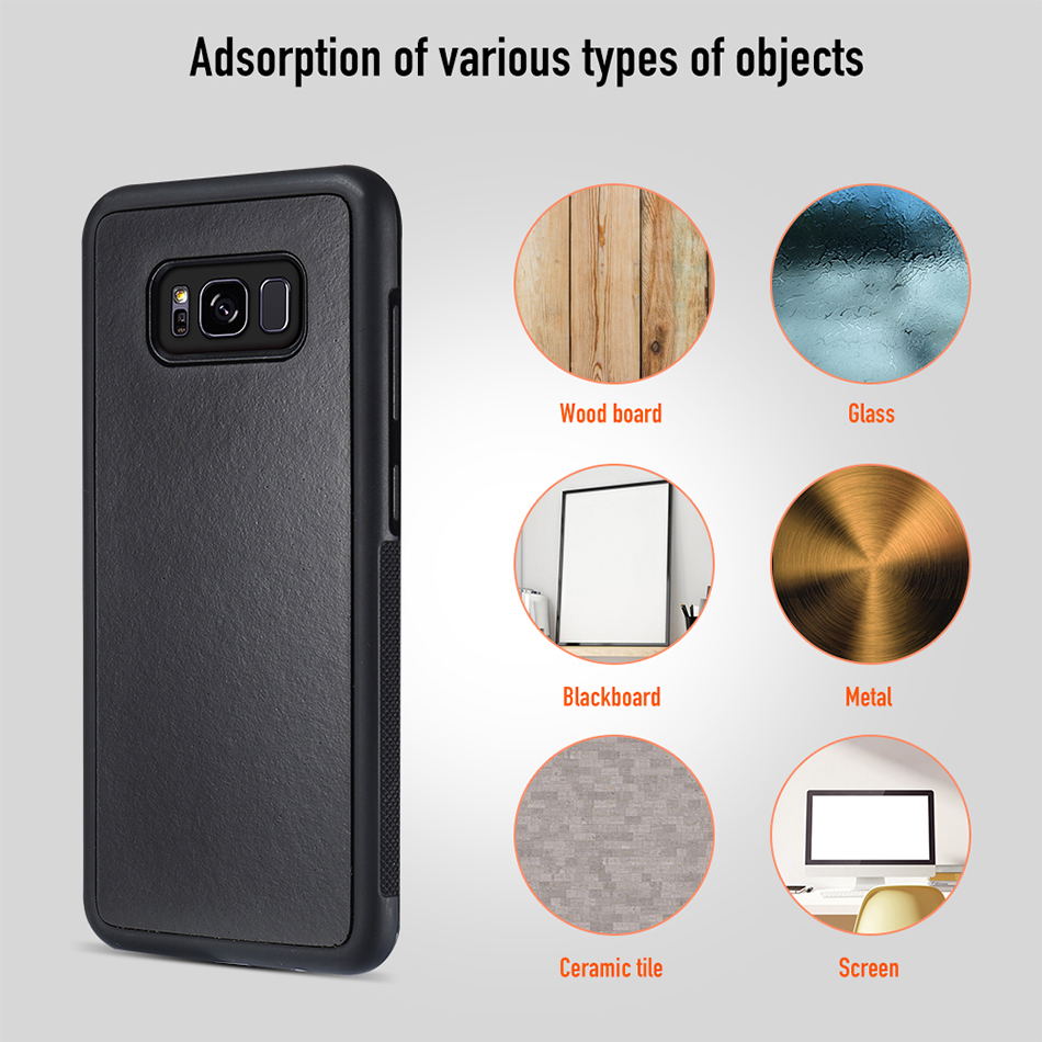 For Samsung Galaxy S8 Plus S6 S7 S5 Anti Gravity Phone Case YYF (4)