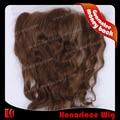 благородную продукции общей цене 14-дюймовый браун человеческих волос переплетения круёева закрытия на складе