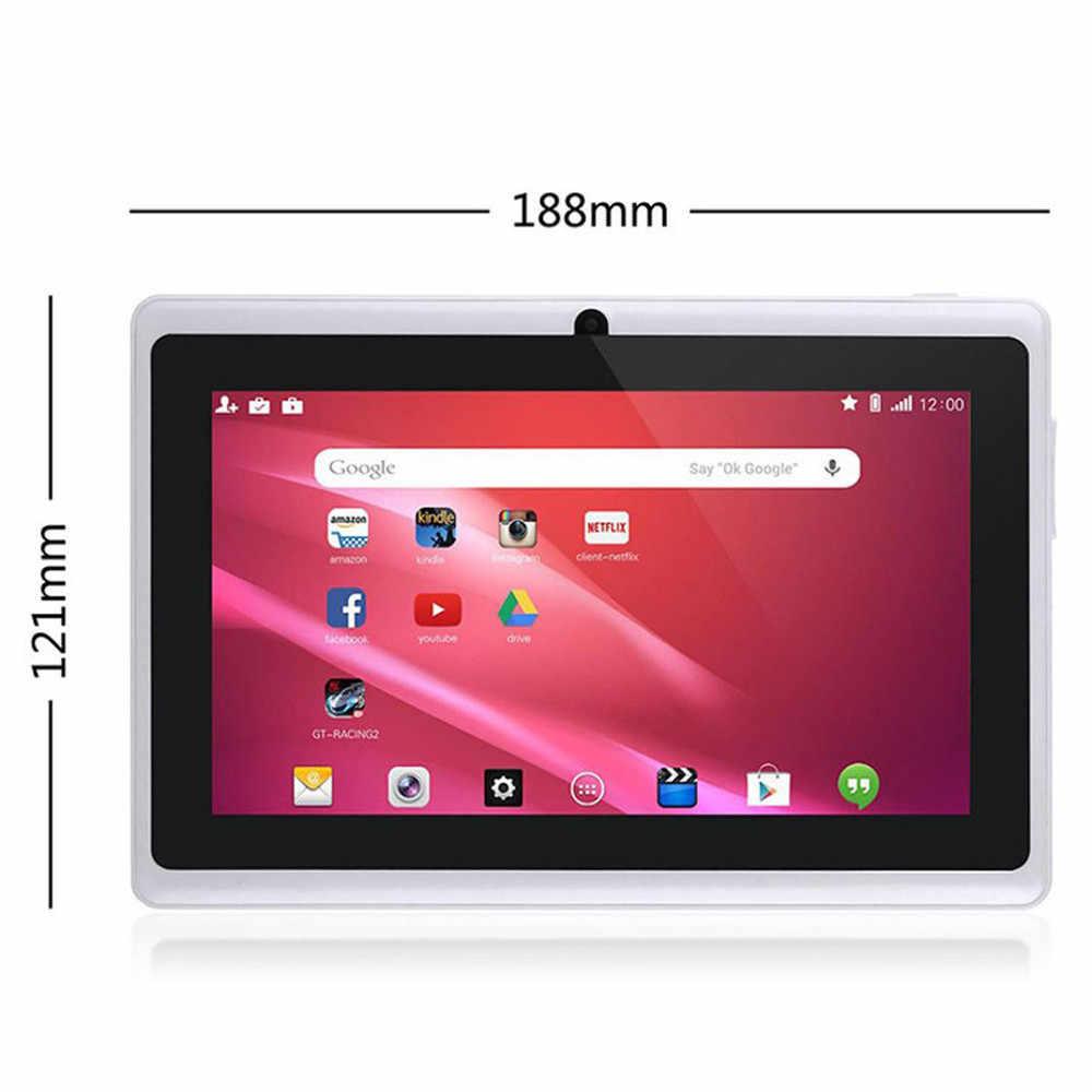 Hiperdal الذكية MP4 لاعب 7 بوصة أندرويد من جوجل 4.4 رباعية قاعدة البيانات الأساسية للكمبيوتر اللوحي 1GB + 8GB كاميرا مزدوجة واي فاي بلوتوث مشغل موسيقى الفيلم