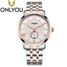 ONLYOU Brand Fashion Business Watch Men waterproof Clock Quartz Wrist Watches Lovers Sport Watch Women Wholesale