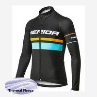 2018 MERIDA mtb Bicycle Shirt winter thermal fleece cycling jersey bike long sleeve tops cycling clothing ropa ciclismo G1610