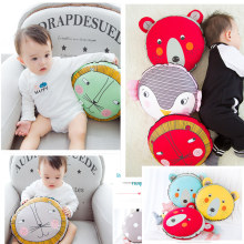 Hot Sale Organic Cotton Baby Pillow Infant Toddler Bedding Newborn Soft Neck Animals cartoon cushions pillow Car bed cushions