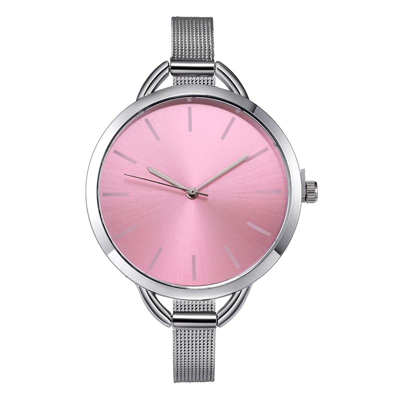 Top Luxury European Style Lady Watch Elegant Big Dial Quartz Super Slim Stainless Steel Bracelet Watch Women's Wrist Reloj Mujer HTB15IeumznD8KJjSspbq6zbEXXaK