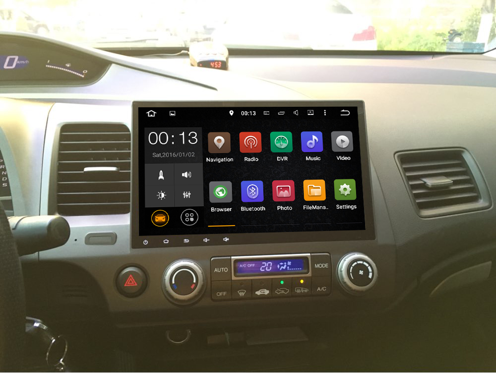 Android 6 0car Dvd Player For Honda Civic 2006 2007 2008 2009 2010 2017 Bluetooth Gps Navi Radio Map In Car Multimedia From Automobiles Motorcycles