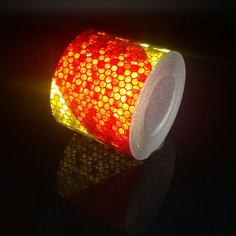 5cm Width Reflective Bicycle Stickers Adhesive Tape For Bike Safety Warning Bisiklet Decals Bike Stickers Accessories