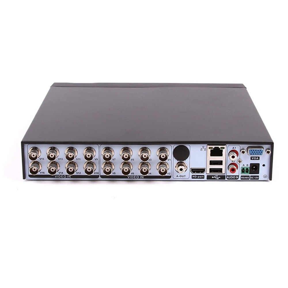 LOFAM AHD DVR 16ch 1080 P ev gözetim 16 kanal AHDH güvenlik CCTV DVR dijital video kaydedici 1080 P 16 kanal AHD DVR NVR