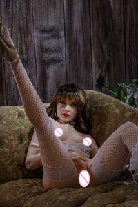 Image 5 - 160cm 2 # pele cor da carne qualidade superior bela mulher sexy sexo robô completo tpe com metal esqueleto sexo boneca brinquedo sexo masculino