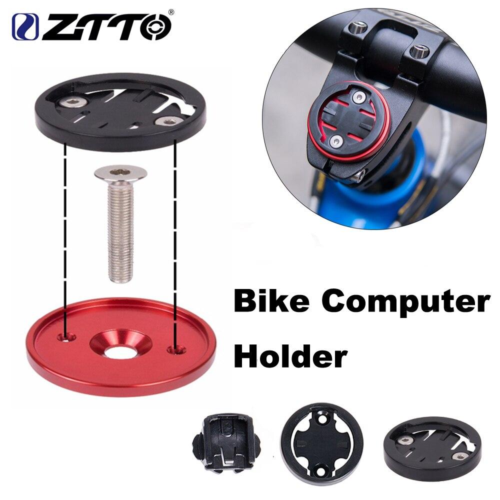 MTB Road Bike Bicycle Computer Holder Stem Top Cap Cycling Stopwatch GPS Speedometer Mount Bracket For GARMIN Bryton CATEYE