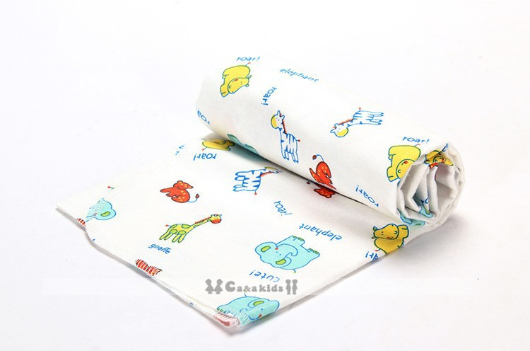Top SaleCobertor Blanket Bedsheet Receiving Flannel Newborn Baby Supersoft 76x76cm Colorful 4pcs/Pack