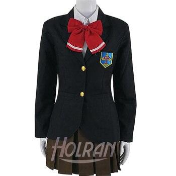 ¡Gratis! Disfraz de Cosplay Iwatobi Club de natación Gou Matsuoka, uniforme para chicas de secundaria