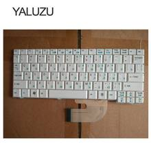 YALUZU russische laptop toetsenbord voor Acer Aspire One ZG5 D150 A150 A150L ZA8 ZG8 D210 D250 A110 Emachines EM250 RU LAYOUT WIT(China)