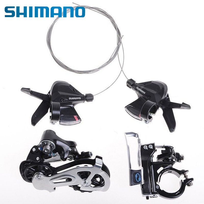 SHIMANO Bike Bicycle MTB Mountain Bike Bicycle Derailleur Groupsets FD-M310 RD-M310 Bike Bicycle Shifters SL-M310 3x8S Bike Part logitech m310