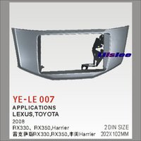 Liislee 2 DIN Frame Panel Fascia For Lexus Toyota RX330 RX350 2008 Aftermarket Car Stereo Radio DVD Player GPS Navi Installation