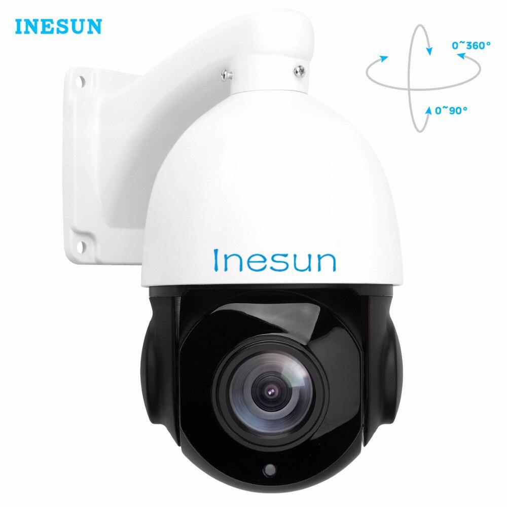 Inesun H 265 Speed Dome PoE PTZ IP Camera HD 1080P 2 0MP 30X Optical Zoom