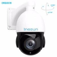 Inesun Full HD 1080P 2MP PTZ 30X Optical Zoom Speed Dome IP Camera Mini Outdoor IP
