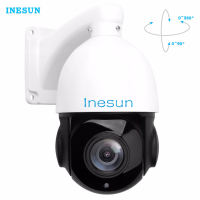 Inesun Full HD 1080P 2MP PTZ 30X Optical Zoom Speed Dome IP Camera Mini Outdoor IP