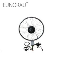Электрический велосипед конверсионный комплект 48V1000W MAC задний Кассетный концентратор мотор E велосипед конверсионный комплект