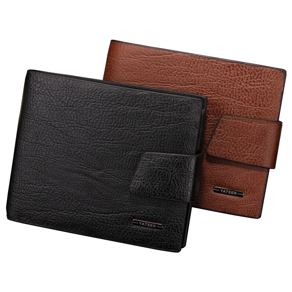 With coin pocket High quality Leather men's Wallets Wholesale purse leather SHORT leather wallets , Best gift , Free Shipping high quality leather cute women s wallets coin purse leather short women leather wallets girls best gift free shipping