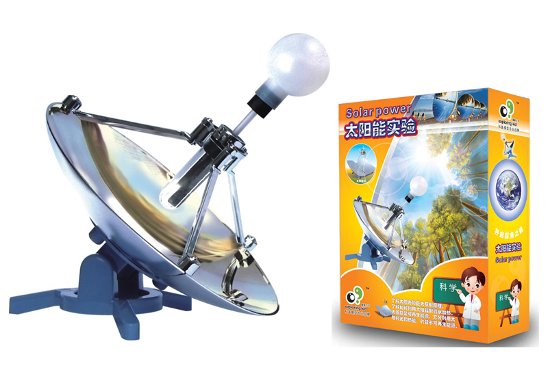 Free Ship 1x Teenage Children Kids Scientific Science Educational Models Experimental Toy Materials SOLAR POWER Experiment Toy