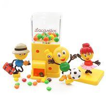 Creative cute candy mini machine rainbow sugar bean mixed flavor fruit  Chrismas Birthday Gift