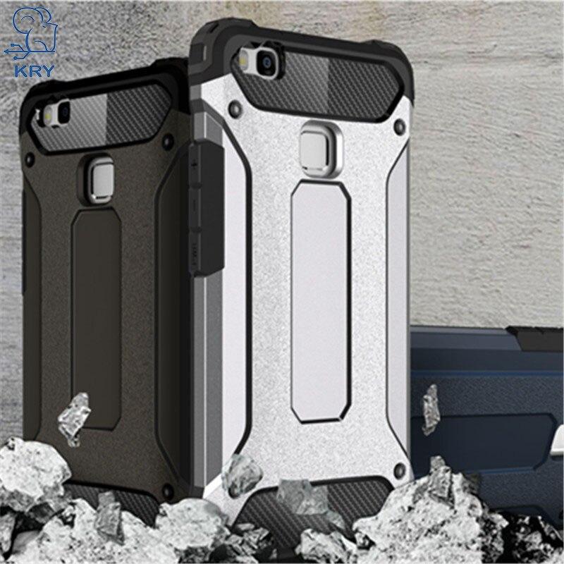 Kry мягкие Телефонные Чехлы для Huawei P9 Lite случае ТПУ кремния Тонкий Вернуться Защитите Жесткий PC кожи ультра тонкий чехол для huawei P9 Lite случае
