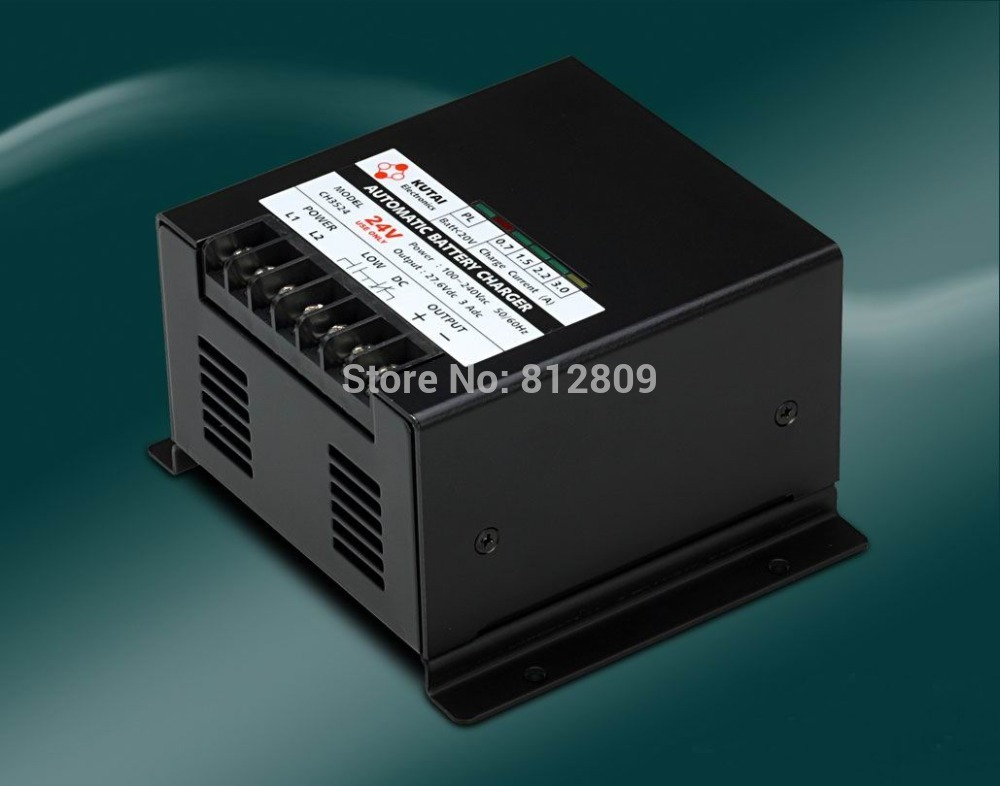 Automatic Battery Charger CH3512 / CH3524Automatic Battery Charger CH3512 / CH3524