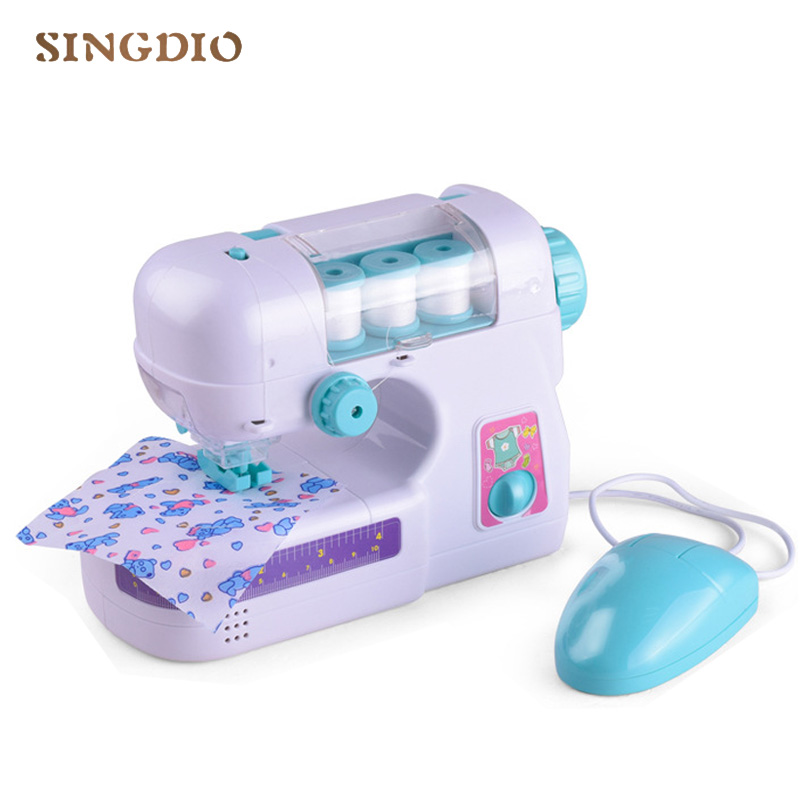 Simulation New Furniture Toys Sewing Machine Imagine Clothes Toy Enchanting Imagine Sewing Machine