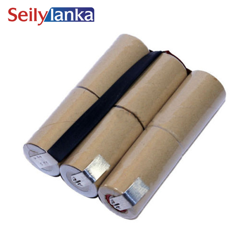 For Gardena 7.2V 4000mAh Accu6 Accu 6 7.2V 2.0AH NIMH battery pack electrical Power tool ...
