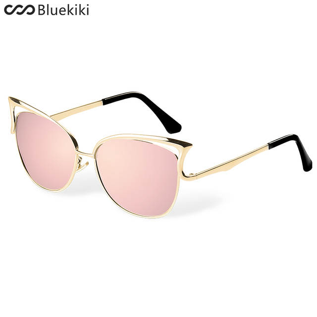 f03c78cbd9 placeholder KIKI Women Sunglasses Polarized Retro Cat Eyes Metal Driving  Gold Sun Glasses Brand Designer UV400 oculos
