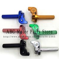 22mm Handlebar CNC Aluminum Throttle Grip Quick Twister Settle For CRF50 70 110 IRBIS 125 250 Dirt Pit Bike Motorcycle Motocross