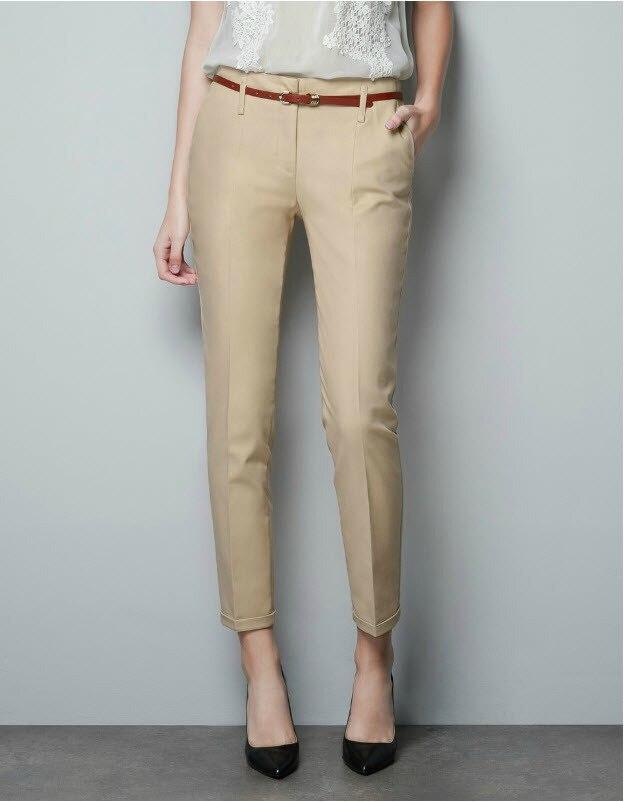 Pants Dress Femininas Las Office Skinny Free Shipping Hot Women Casual Pure Color Plus Size Loose