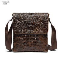 YUPINXUAN Latest Designer Leather Bags For Men Business Casual Bags Ipad Bags Genuine Messenger Bags