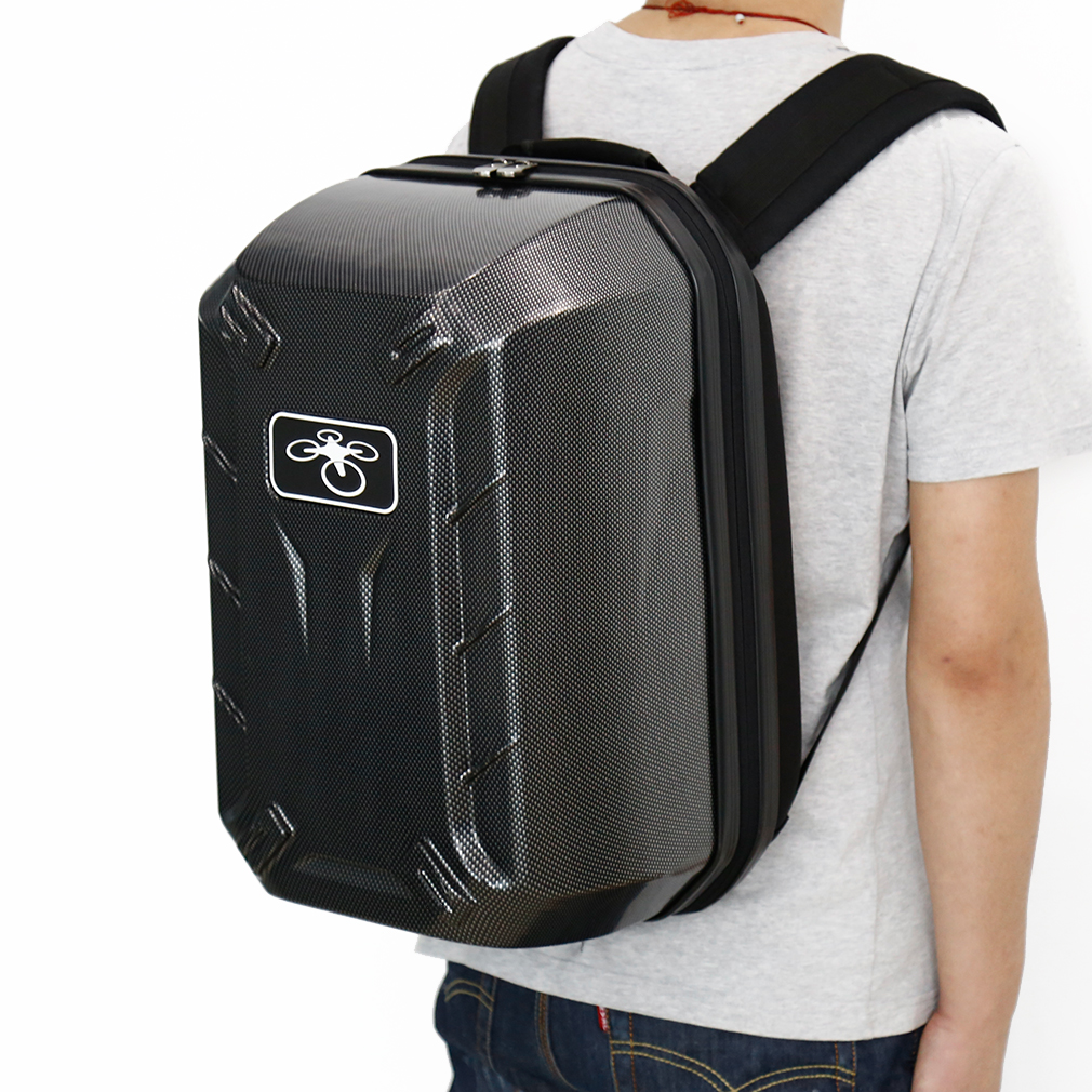 цена на Black DJI Phantom 4 Backpack Carry Case Hardshell Shoulder Done Bag Box for DJI Phantom 4 FPV Drone Quadcopter