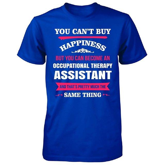 Gildan hombre t shirt felicidad es ser un asistente de terapia ...