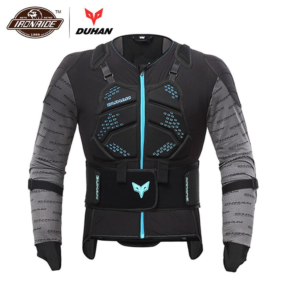DUHAN Motorcycle Jacket Body Armor Motocross Vest Motocross Armor Riding Racing Jacket Moto Jacket Black Moto