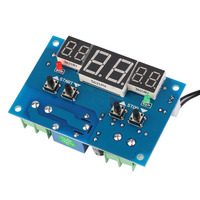 Free Shipping XHW1401 DC 12V Digital Display Thermostat Temperature Controller With Sensor