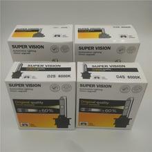 Автомобильная проблесковая D1S D2S D3S D4S HID лампы CBI Ксеноновые фары лампы D1 D2 D3 D4 D1R D2R D3R d4r фара дальнего света 4300K 6000K 8000K