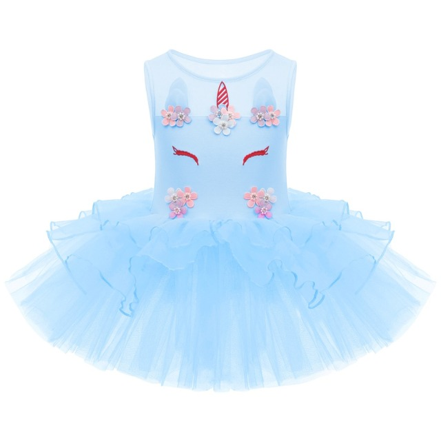 Cute Unicorn Ballet Tutu Dress