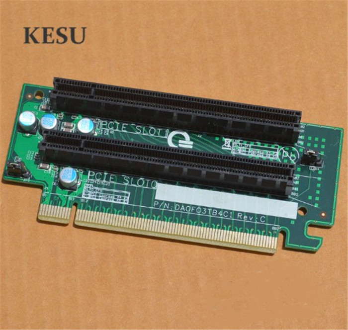 Dual Slot Pice PCI-E X16 Extension Card 2U PCI-E Video Card Graphics Video Card For E5 Two-way Server