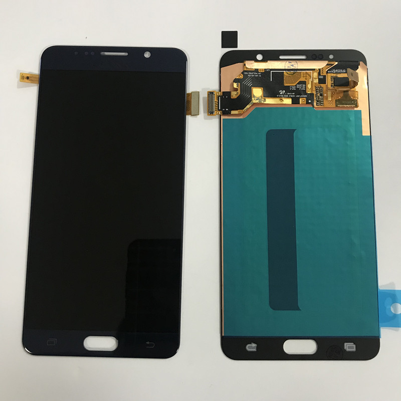 D'ORIGINE Brûler Ombre lcd pour samsung Galaxy Note 5 N920P N920T N920A N920I N920G écran lcd ensemble numériseur à écran tactile
