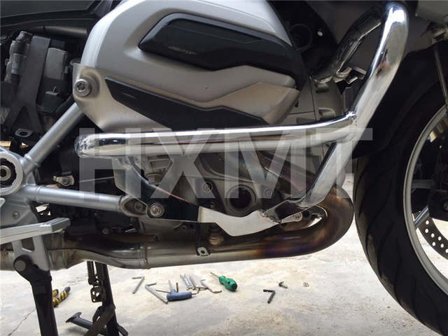 For Bmw R1200rt R 1200 Rt 2014 2015 2016 2017 Silver Motorcycle Crash Protection Bars Engine Guard Protective Frame R 1200rt