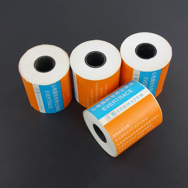 Medical ECG Thermal Paper 50mm*20m  4 Rolls/Lot