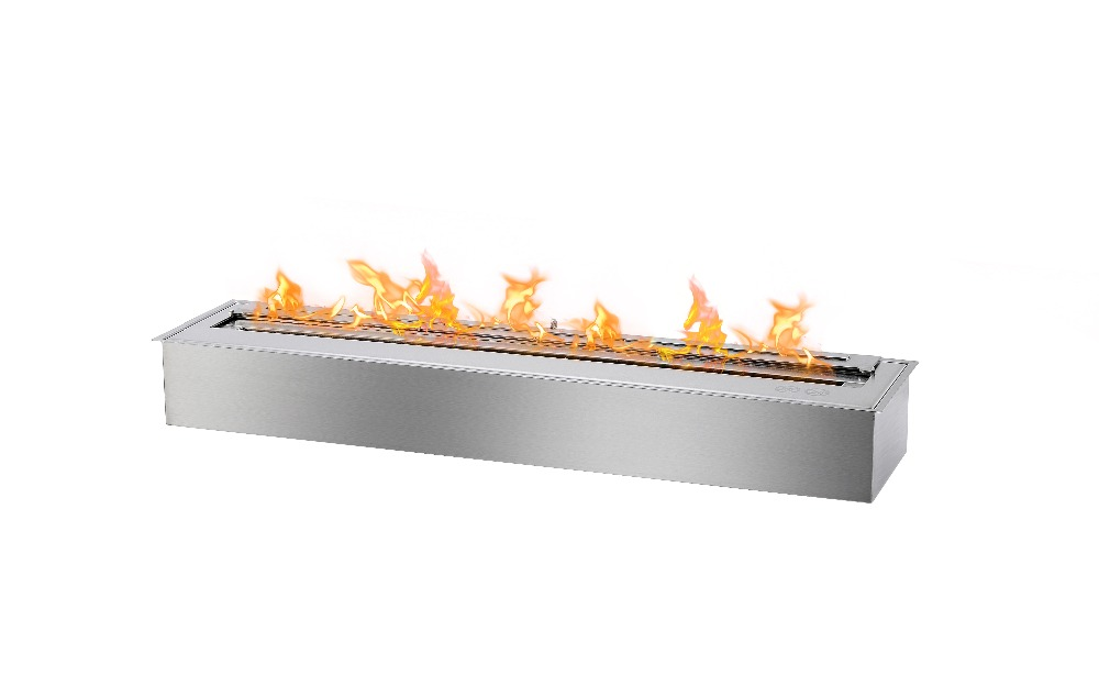 Inno-living 90cm Stainless Steel Bioethanol Fireplace