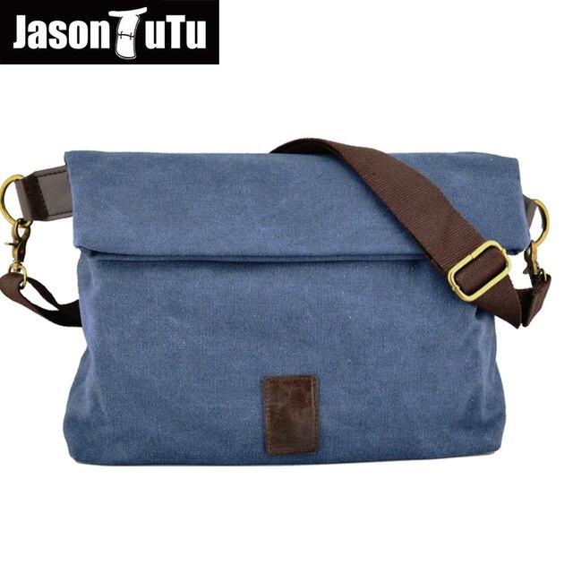 1c707ab69 JASON TUTU Original design 2017 men bag Good quality canvas shoulder bags ,Crossbody  bags for
